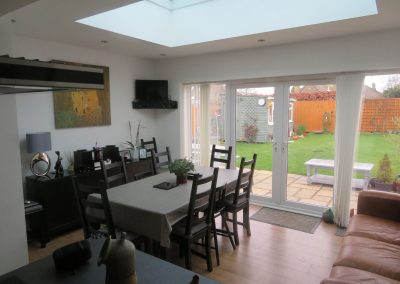 Kitchen extension and renovation Chippenham