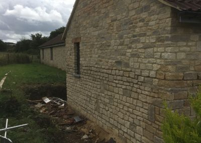 Natural stone extension Dyrham Park (2)