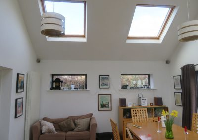 New family room extension