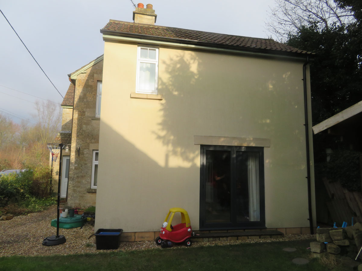 New Lounge Extension With Master Bedroom And En Suite Lacock